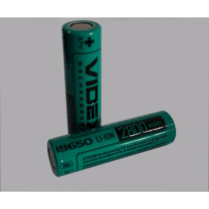 Аккумулятор Videx 18650 2800 mAh Li-Ion (без защиты)