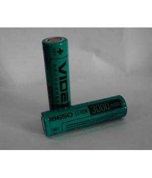 Аккумулятор Videx 18650 3000 mAh Li-Ion (без защиты)