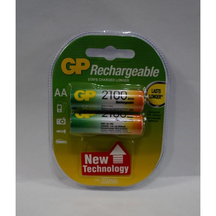 Аккумуляторная батарейка GP AA R06 2100 MAH (на блистере)