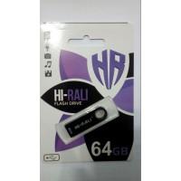 USB флешка Hi-Rali 64GB Shuttle series black