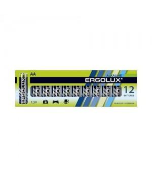 Батарейка Ergolux LR03 Alkaline 12шт,коробка