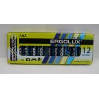Батарейка Ergolux LR06 Alkaline 12шт,коробка
