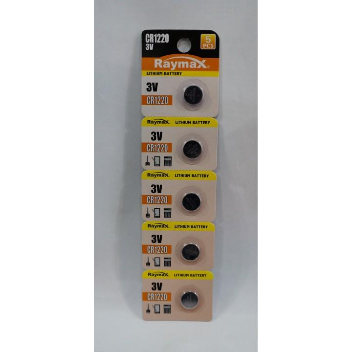 Батарейка Raymax CR1220 (на блистере)