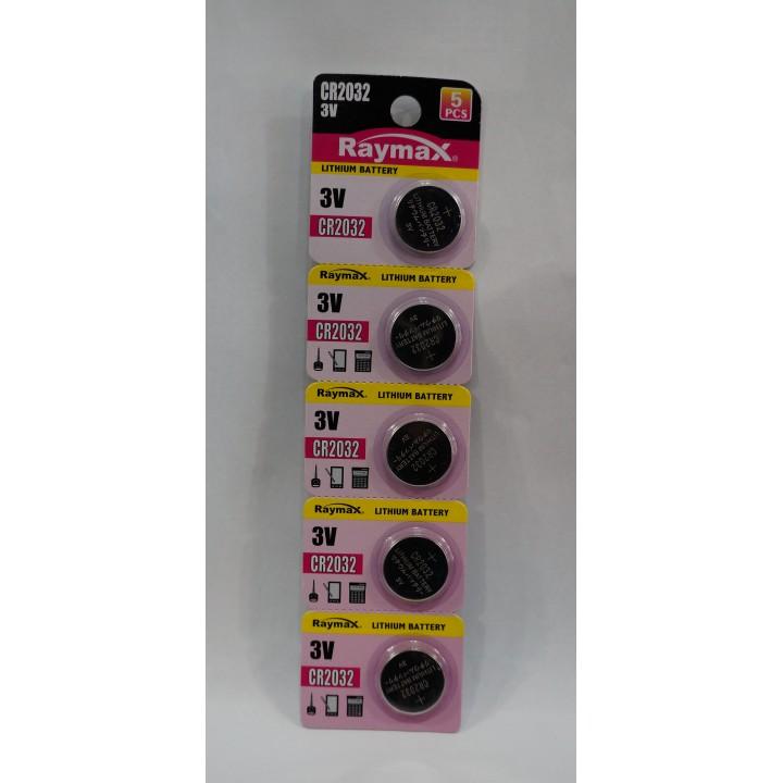 Батарейка Raymax CR2032 (на блистере)