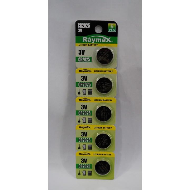 Батарейка Raymax CR2025 (на блистере)