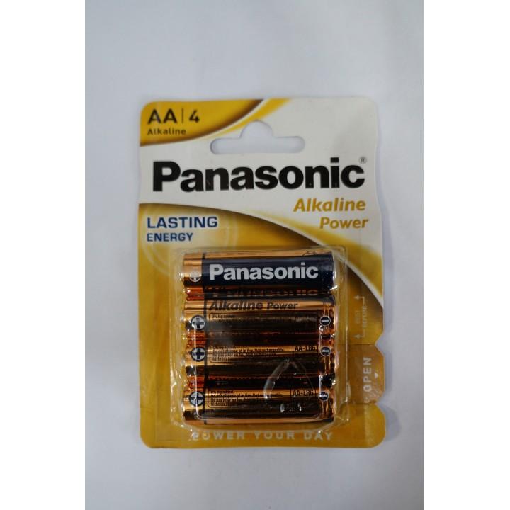 Батарейка Panasonic alkaline  LR06 (на блистере)