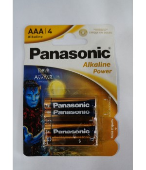 Батарейка Panasonic alkaline LR03 (на блистере)