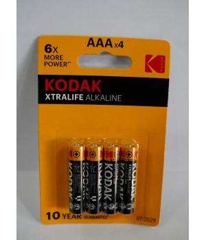 Батарейка KODAK LR03 Alkalin (на блистере)