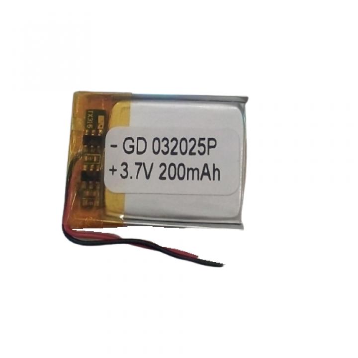 Литий-полимерный аккумулятор 032025