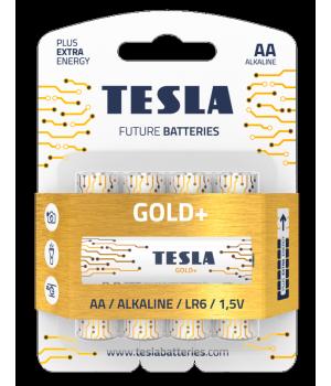 Батарейки Tesla GOLD LR06 на блистере