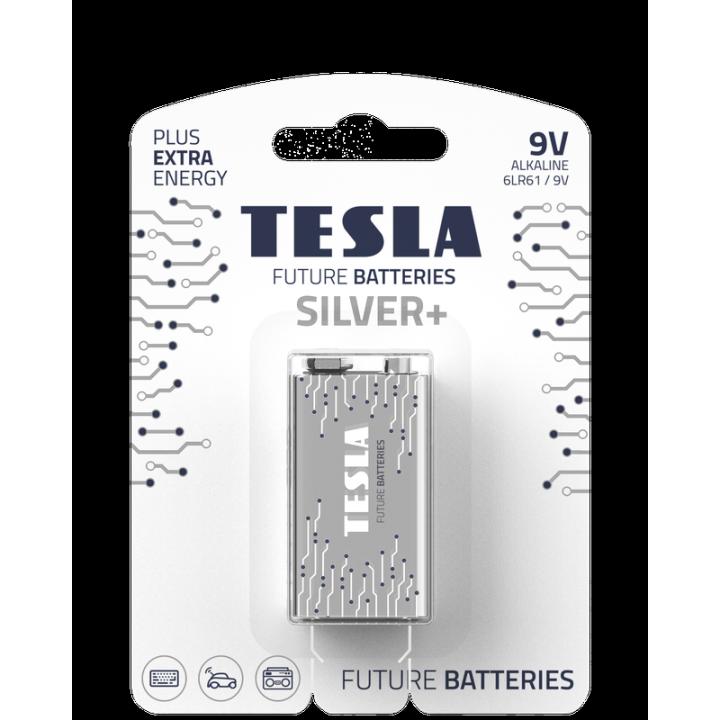 Батарейки Tesla Silver 6LR61 крона на блистере
