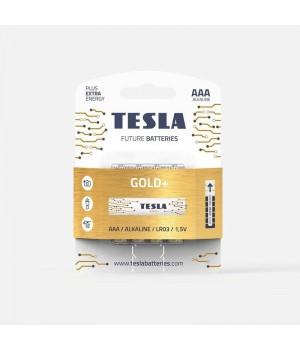 Батарейки Tesla GOLD LR03 на блистере