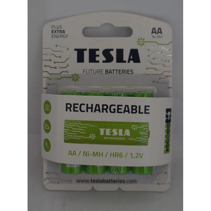 Аккумуляторная батарейка TESLA HR06 AA 2450 mAh