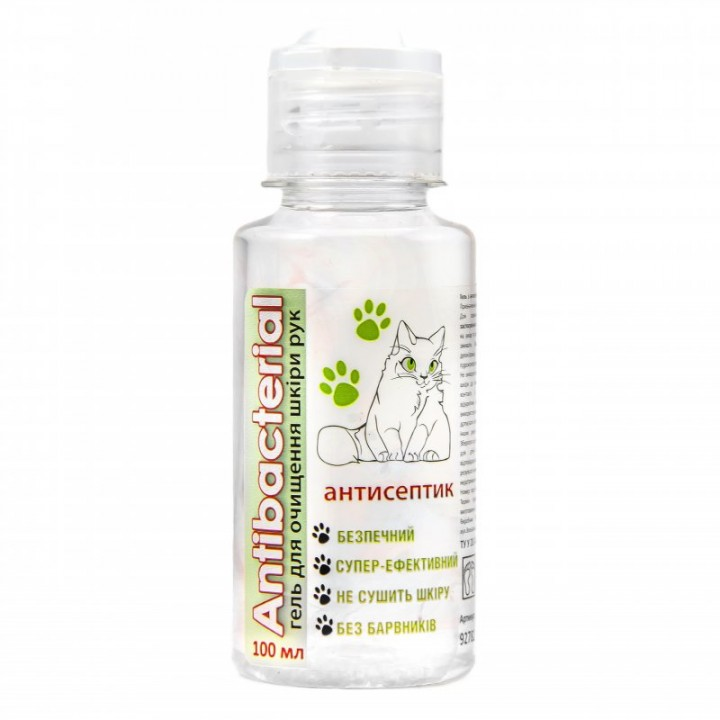 Антисептик-гель для рук ANTIBACTERIAL 100мл