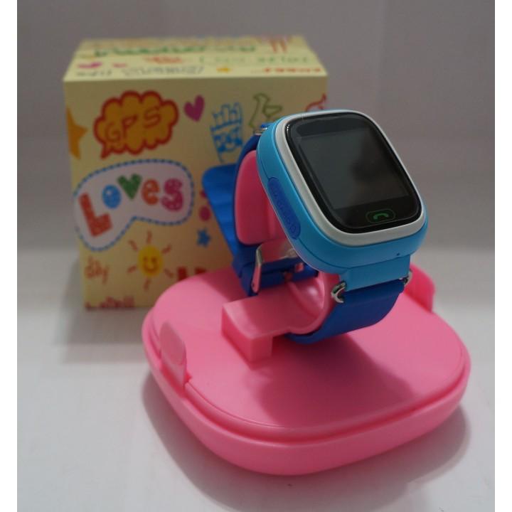 Smart Watch детские сенсорные Q90 blue