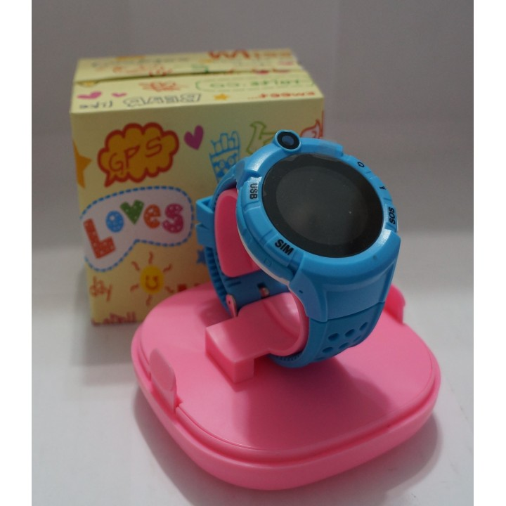 Smart Watch детские с gps трекером +camera S02 Deep Blue