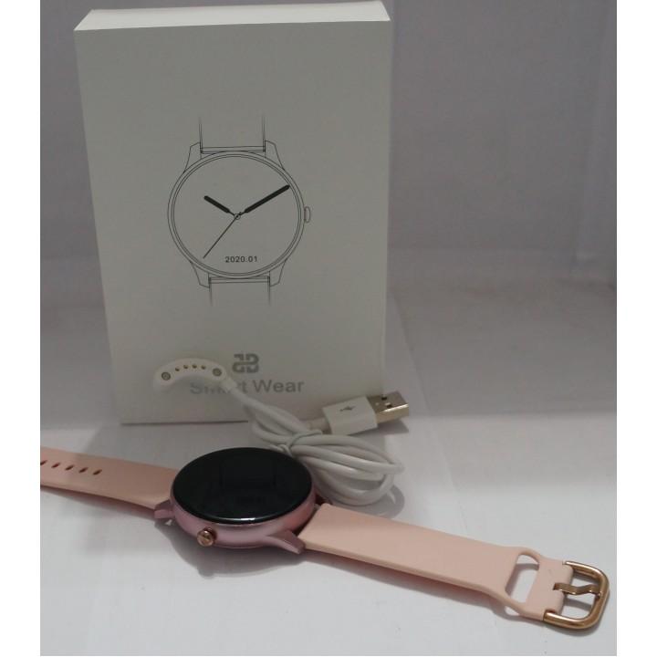 Умные часы Smart Watch V10 Elegant розовые