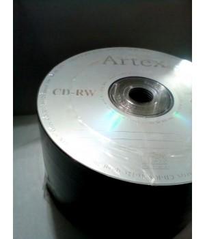 Диск для запису CD-RW ARTEX 700Mb 50 шт