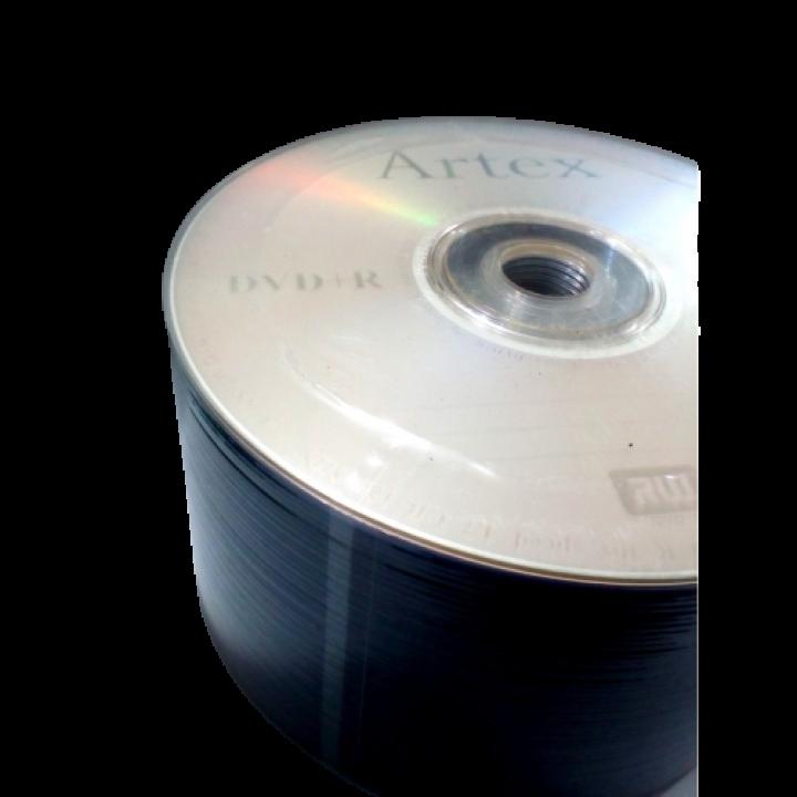 Диски DVD+R ARTEX (50шт. упаковка)