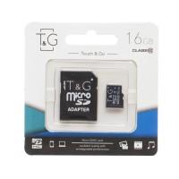 Micro SD карта памяти T&G 16Gb class 10