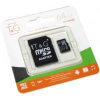 Micro SD карта памяти T&G 64Gb class 10