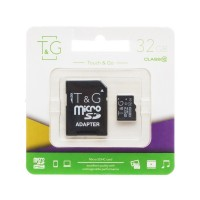 Micro SD карта памяти T&G 32Gb class 10