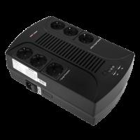 ИБП Logic Power 850VA-6PS 6 евророзетки,5 ступ.AVR 8Ач12В,plastic case (595Вт) (4325)