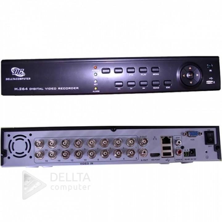 Купить Видеорегистратор стационарный DVR WIFI 3G 8016 HDMI 4AUDIO: цена, характеристики | Dellta Computer