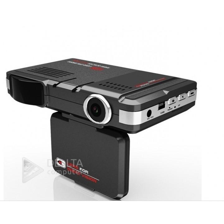 Автомобильный видеорегистратор с GPS радар-детектором  8500