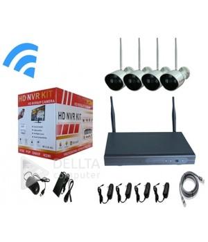 Комплект  видеонаблюдения на 4 камеры FS-6388W10