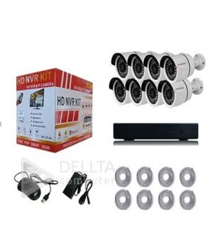 Комплект видеонаблюдения Fosvision FS-6233N10 8-ми канальный NVR  2mp Wi FI