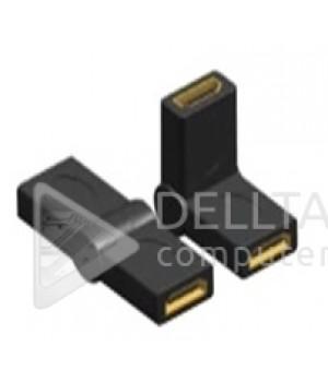Переходник HDMI F/ HDMI F поворотный