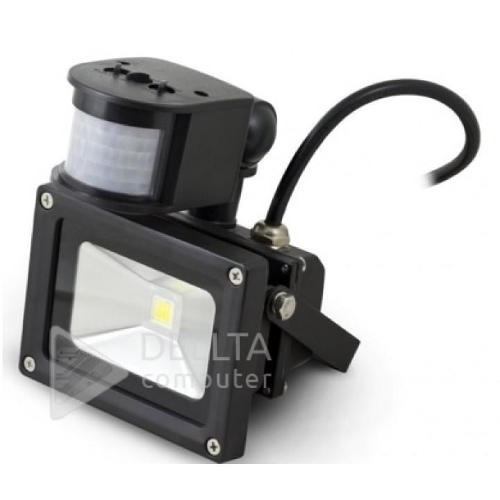 Прожектор LED с датчиком  FL-10W-S
