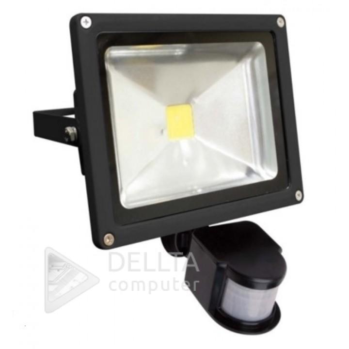Прожектор LED с датчиком FL-20W-S