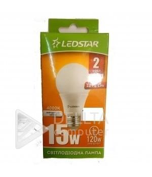 Светодиодная лампа Ledstar 15W  А60  E27 4000k