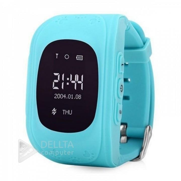 Smart часы детские Q50 голубые