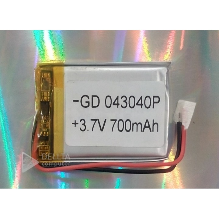Литий-полимерный аккумулятор 043040