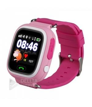 Smart часы детские сенсорные Q90 розовые