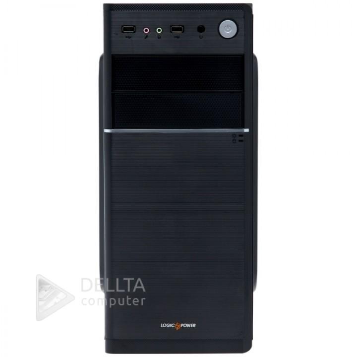 Корпус LP 1709-400W 8см black case chassis cover (4207)