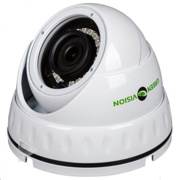 Купить Антивандальная IP камера Green Vision GV-053-IP-G-DOS20-20: цена, характеристики   Dellta Computer