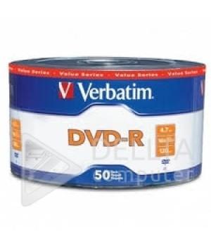 Диск для записи DVD-R Verbatim 4,7Gb 16x Datalife Wrap bulk 50 штук (Цена указана за 50 шт)