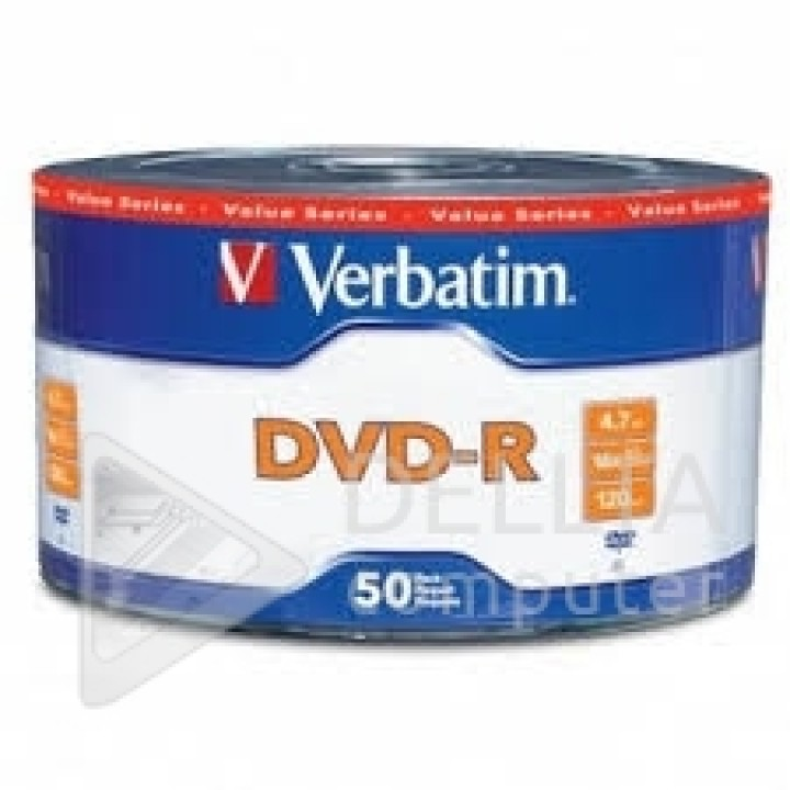 Диски DVD-R Verbatim 4,7Gb 16x Datalife Wrap bulk (упаковка 50 шт)