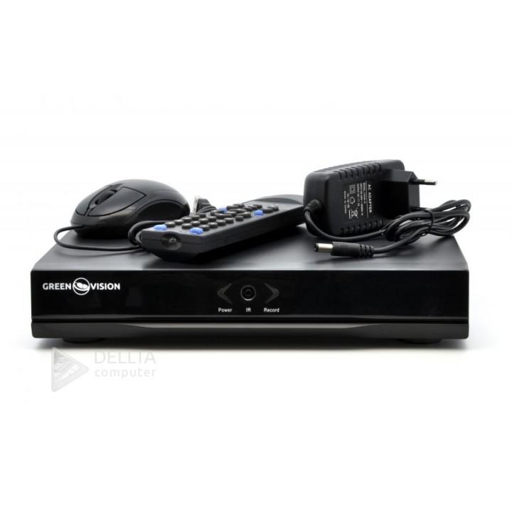 Купить Гибридный видеорегистратор  AHD Green Vision GV-S-030/04   1080P: цена, характеристики | Dellta Computer
