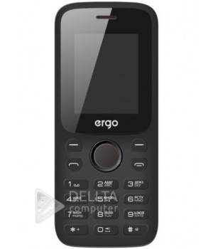 Телефон Ergo F182 Point Dual Sim Black