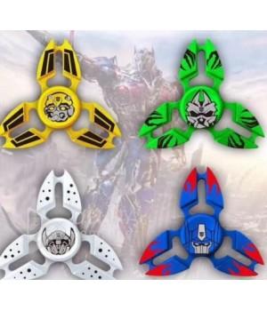 Спиннер  супергерои трансформеры металлический