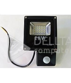 Прожектор LED с датчиком FL-10W-S slim