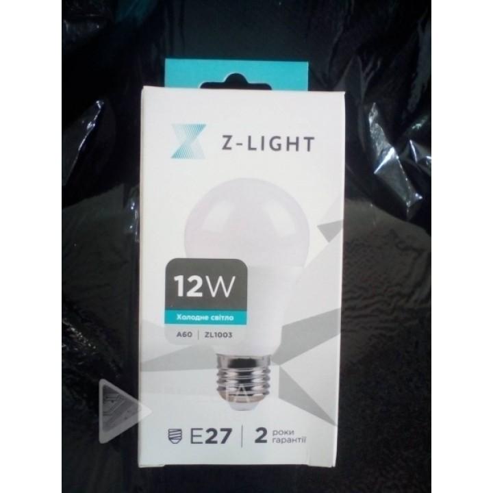 Светодиодная лампа Z-light 12w E27 6400k zl-16012276 a60