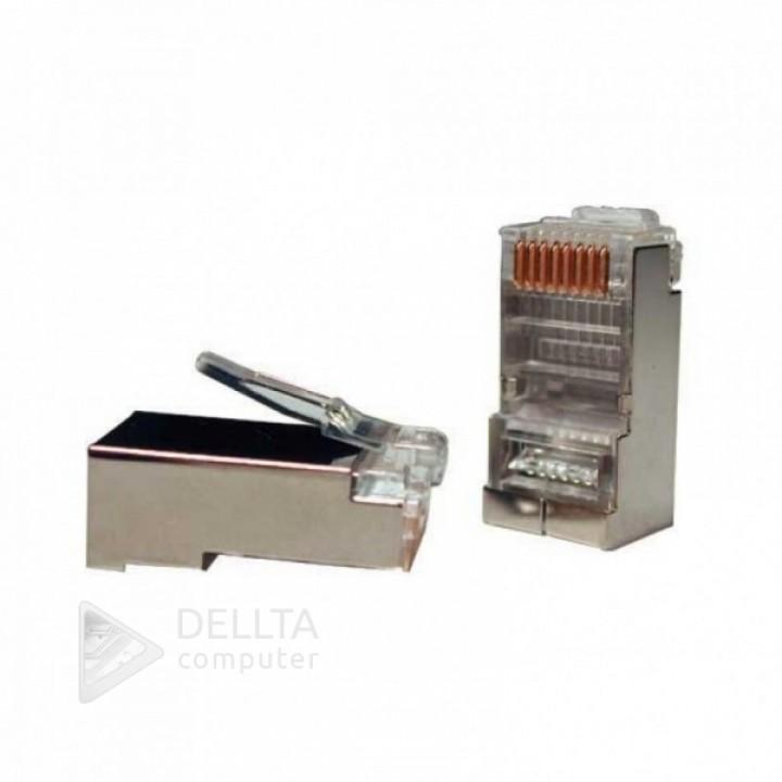 Разъем RJ45 FTP -8p8c metal