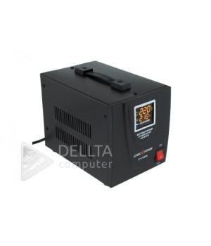 Стабилизатор напряжения LPT-1500RD Black (1050W)