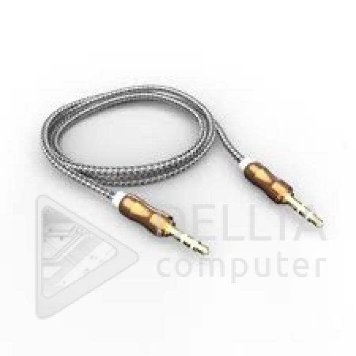 AUX кабель  3.5m/m metall